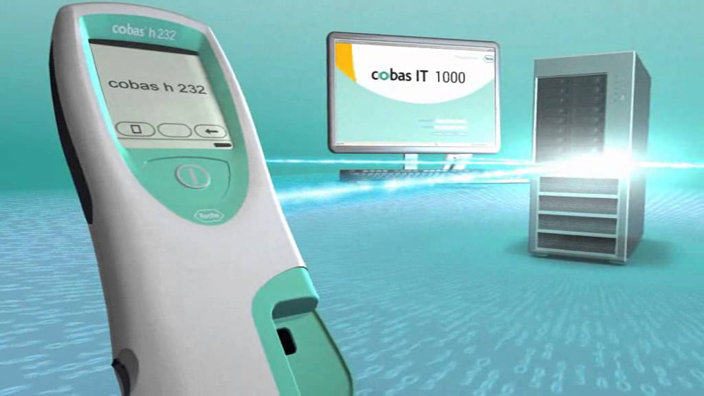 Roche Cobas It 1000 Poc Data Management System Youtube