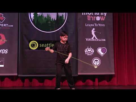 Reece Luo - Novice Open - 6th Place - PNWR 2018 - Presented by Yoyo Contest Central