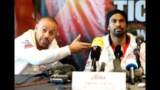 ADAM BOOTH SAYS DAVID HAYE SHOULD NEVER HAVE FOUGHT TONY BELLEW!!