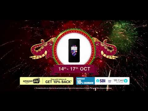 Amazon Great Indian Festival - 14th - 17th Oct