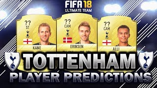 Fifa 18 | tottenham player rating predictions! | w/kane, alli and eriksen
