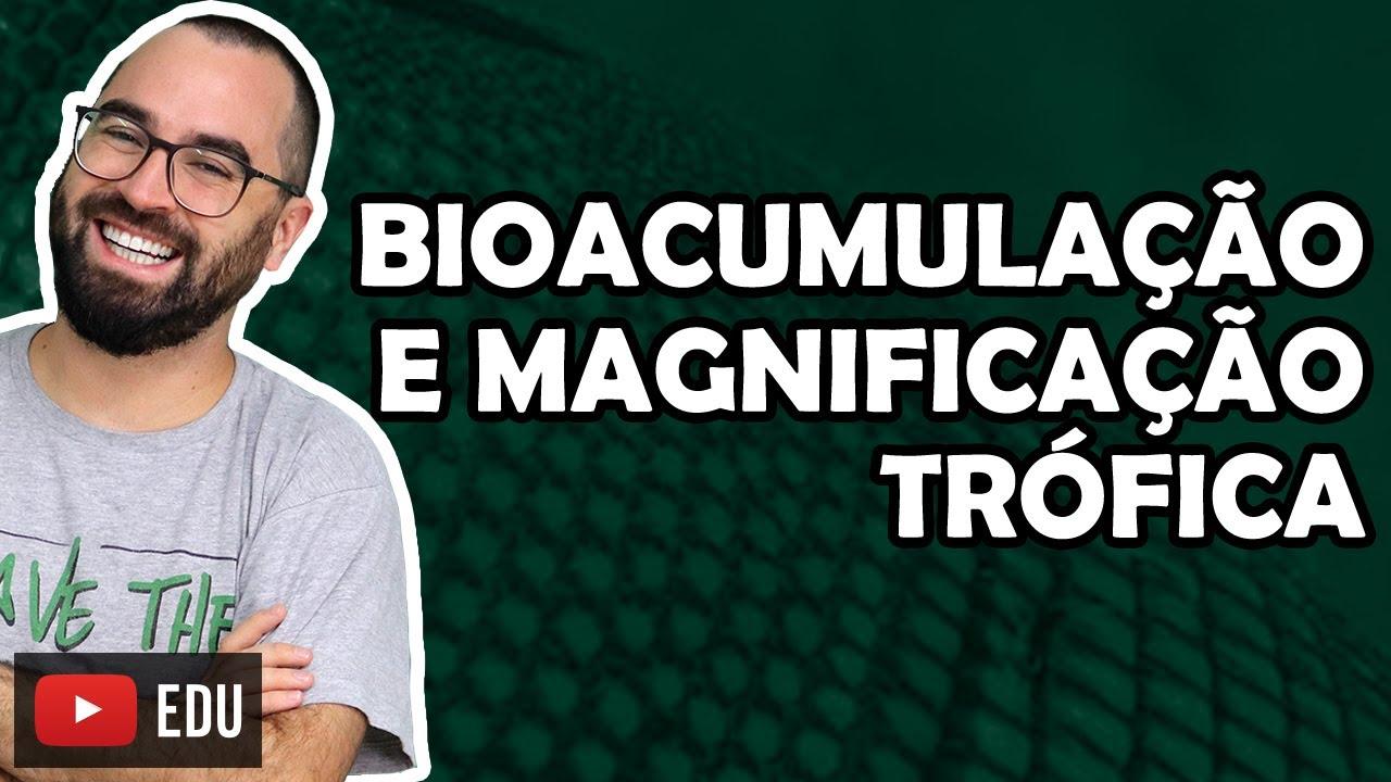 Bioacumulação e magnificação trófica - Aula 17 - Módulo VIII: Ecologia | Prof. Gui