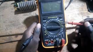 Namna ya kutumia multmeter kupima umeme wa DC (direct current)