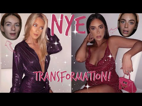 OUR 1 HOUR NYE TRANSFORMATION!!! | Sophia and Cinzia