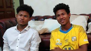 Wawancara Eksklusif Pemain Timnas U-19 Indonesia Bagas & Bagus yang Memilih Gabung ke Barito Putera