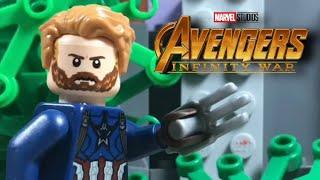 Avengers Infinity War Trailer 2 in LEGO