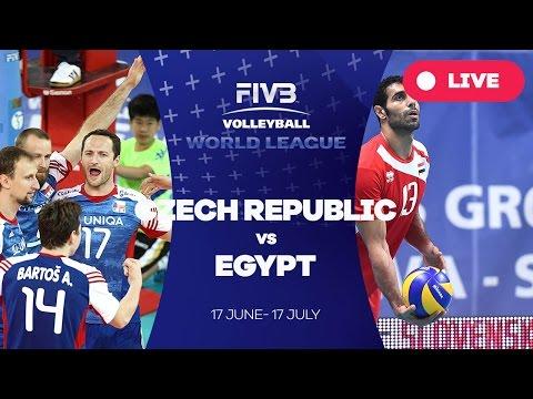 Czech Republic v Egypt - Group 2: 2016 FIVB Volleyball World League