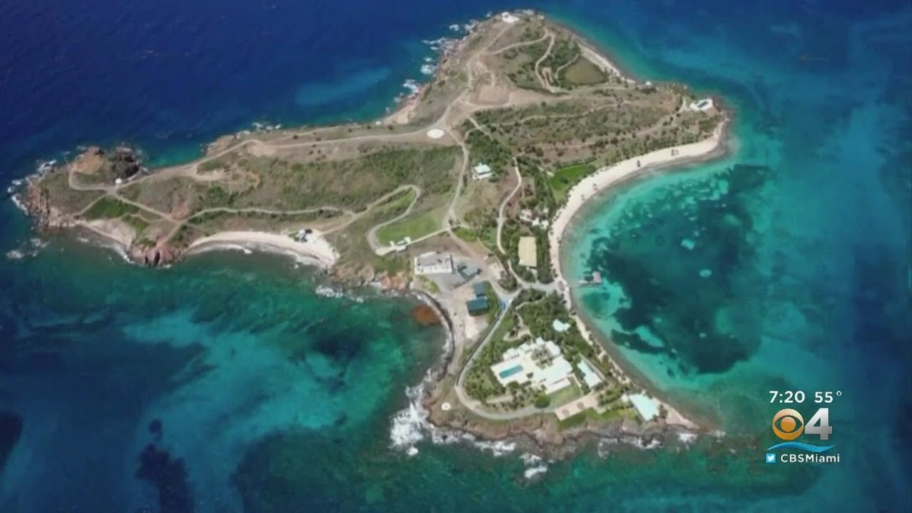 A Close Look At Secluded Island Where Jeffrey Epstein Is Accused Of Trafficking Underage Girls