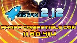 [ACTUALIZACION] NTR CFW V2.12 AHORA COMPATIBLE 11.8 (CAPTURADORA WIFI/CHEATS POKEMON)
