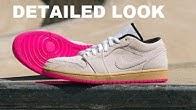 642dfe77ff54c Air Jordan 1 Low Tan Suede Gum Hyper Pink  Yeezy  Retro Sneaker Detailed  Look Review  Sneakerhead - Duration  4 minutes