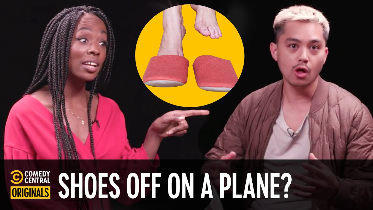 Should You Take Your Shoes Off on a Plane? - Agree to Disagree
