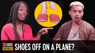 Should You Take Your Shoes Off…