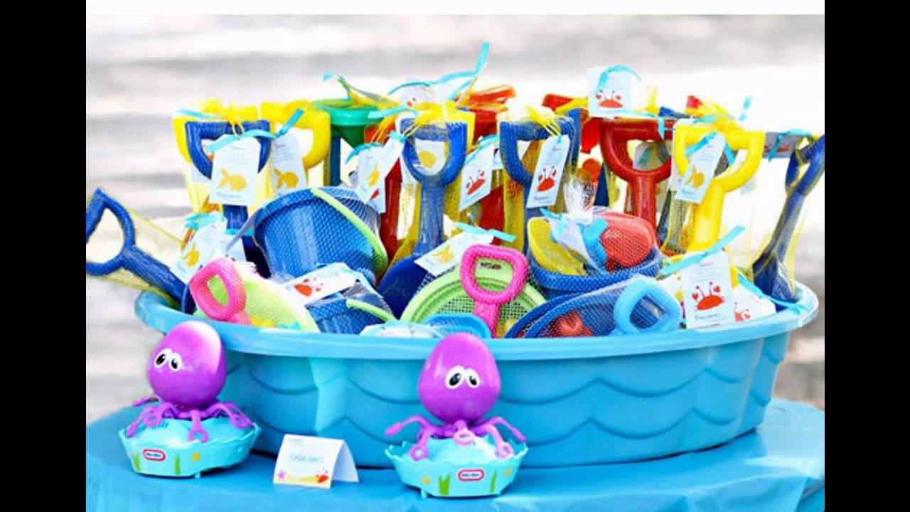Kids pool party ideas decorations at home  sc 1 st  YouTube & Kids pool party ideas decorations at home - YouTube