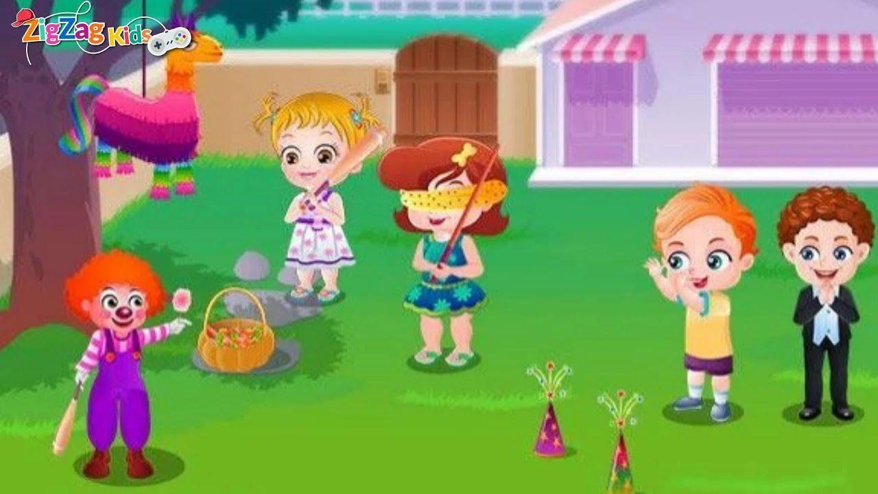 Baby Hazel Backyard Party   Full Episode   ZigZag Kids HD ...