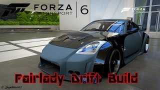 Forza motorsport 6: Nissian Fairlady Z Drift Build Xbox one (HD60)