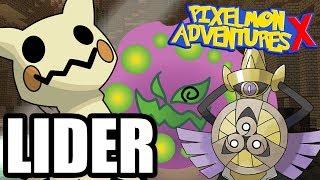 WALKA Z DUCHOWYM LIDEREM! BĘDZIE CIĘŻKO! - Pixelmon Adventures X #18 /w Hunter