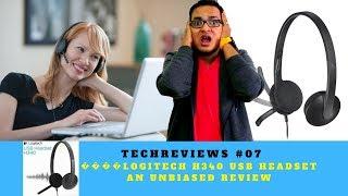 😜😝Logitech H340 USB Headset || Best Headset ?|| Unbiased Review [TechReviews #07]