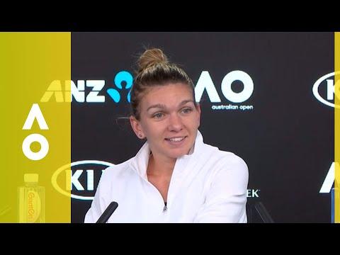 Simona Halep press conference (4R)   Australian Open 2018