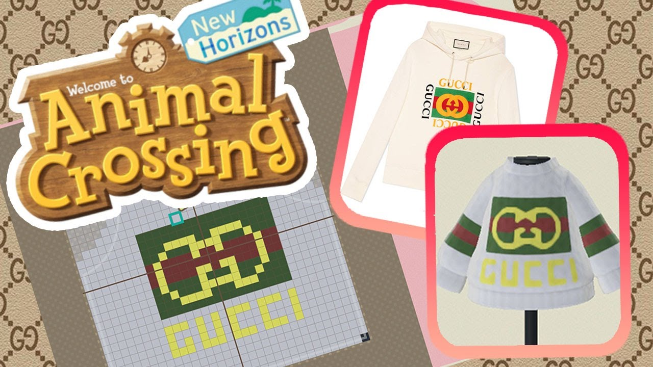 Animal Crossing New Horizons Gucci Sweater How To Easy