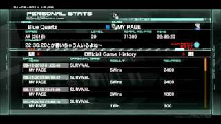MGO NOSS PC collection. in JPN