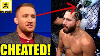 Jorge Masvidal's corner tried to cheat at UFC 261 by pouring water on Masvidal's head,Gaethje,Jones