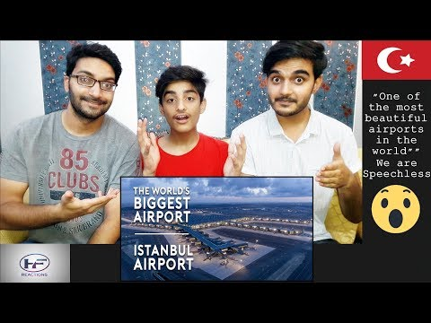 Reaction On: The World's BIGGEST Airport Opens - New Istanbul Airport