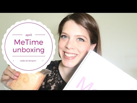 Vložki ali tamponi?  | MeTime unboxing mesečne škatle