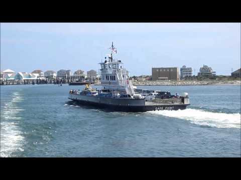 Hatteras - Ocracoke Island Ferry Ride, North Carolina Outer Banks - USA