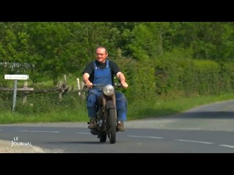 Vendée Jean Luc Bertrand Ou La Passion Des Motos Anciennes Youtube