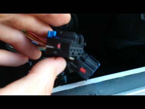 2010 Chevrolet Malibu Radio - Removing wire harness - YouTube on
