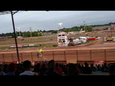 Shawano Speedway Modified Heat Races 8 2 2017