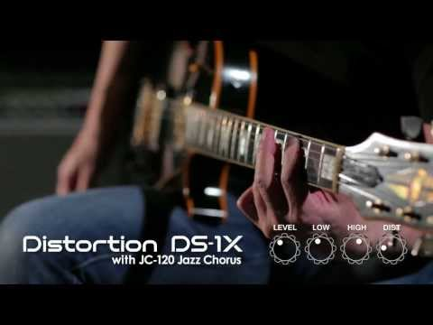 DS-1X Distortion Sound Preview [BOSS Sound Check]