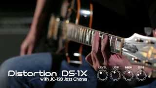 DS-1X Distortion Sound Preview [BOSS Sound Check] Thumbnail