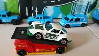 '71 Porsche 911 #Hotwheels #Polizei #PoliceCar