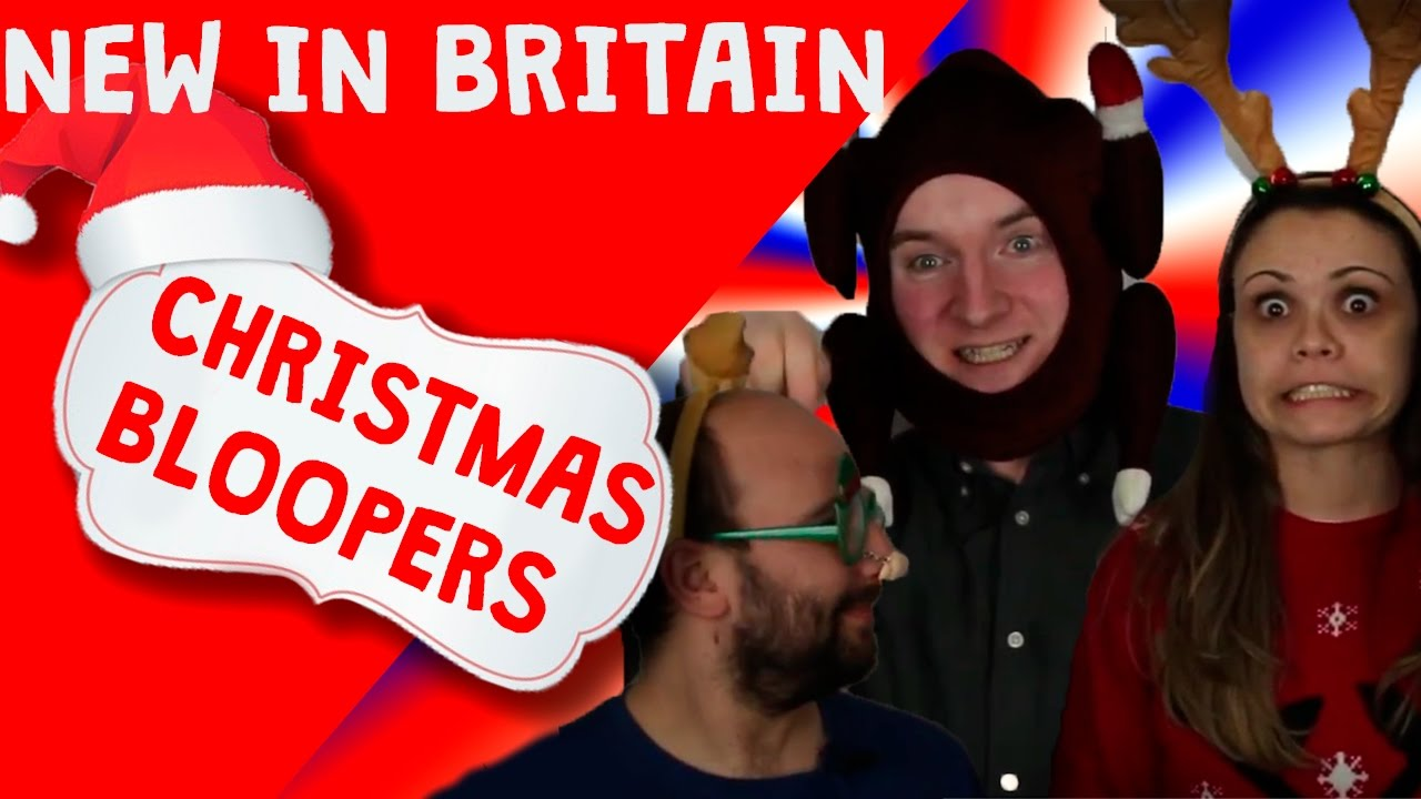 New in Britain - Best Christmas Bloopers - YouTube