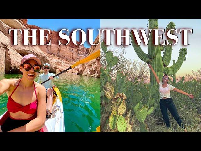 THE ULTIMATE SOUTHWEST USA ROAD TRIP | Utah, Arizona, Colorado & New Mexico