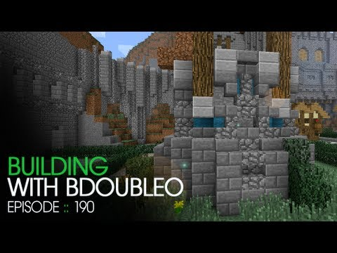 Minecraft Building with BdoubleO - Episode 190 - New Style + Time Lapse