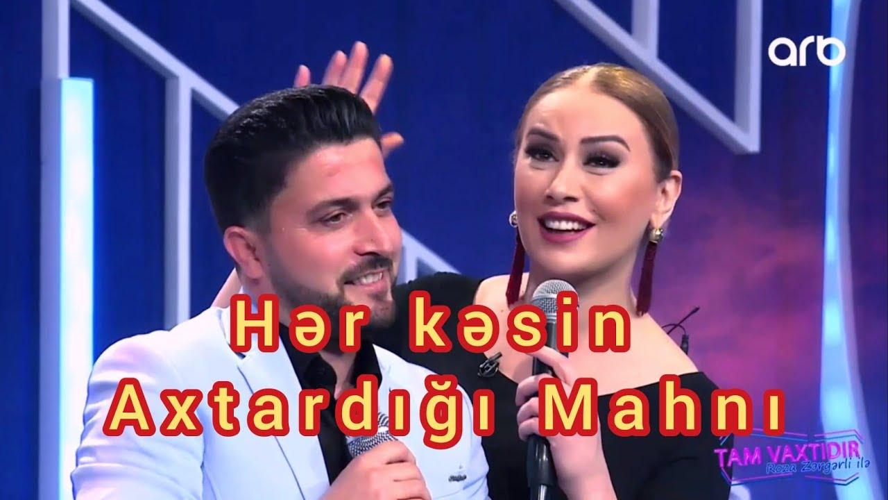 Roza Zergerli feat Pervin Seferov  Görüm Yarı ( Qar yağacaq kendimize )