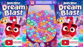 Angry Birds Dream Blast 😍 new update Helloween Cartoon Game HD