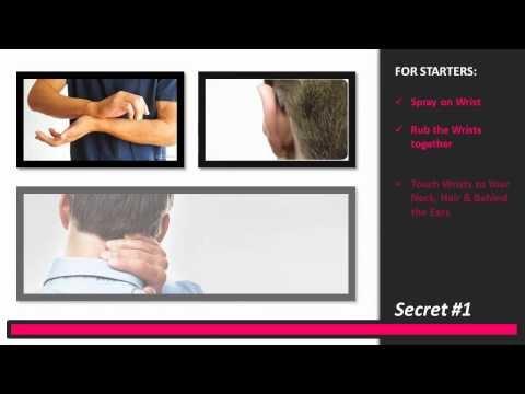 3 secrets to using pheromone cologne