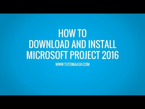 Download And Installation Microsoft Project 2016 Trial | MS-Project Online Tutorial -Tutomaash.com