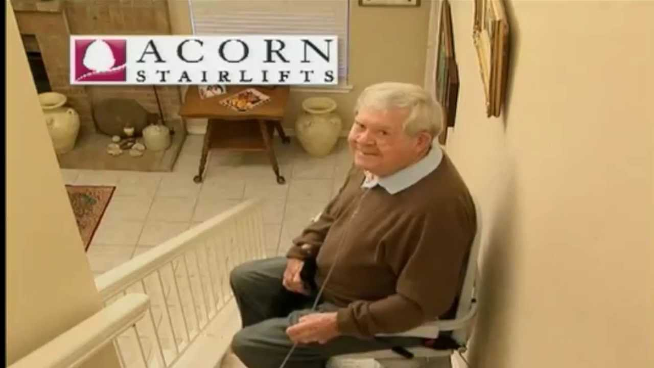 acorn stairlifts original commercial - youtube