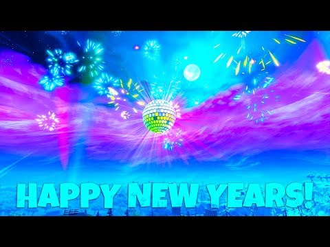 NEW YEARS 2019 LIVE EVENT! Fortnite Battle Royale