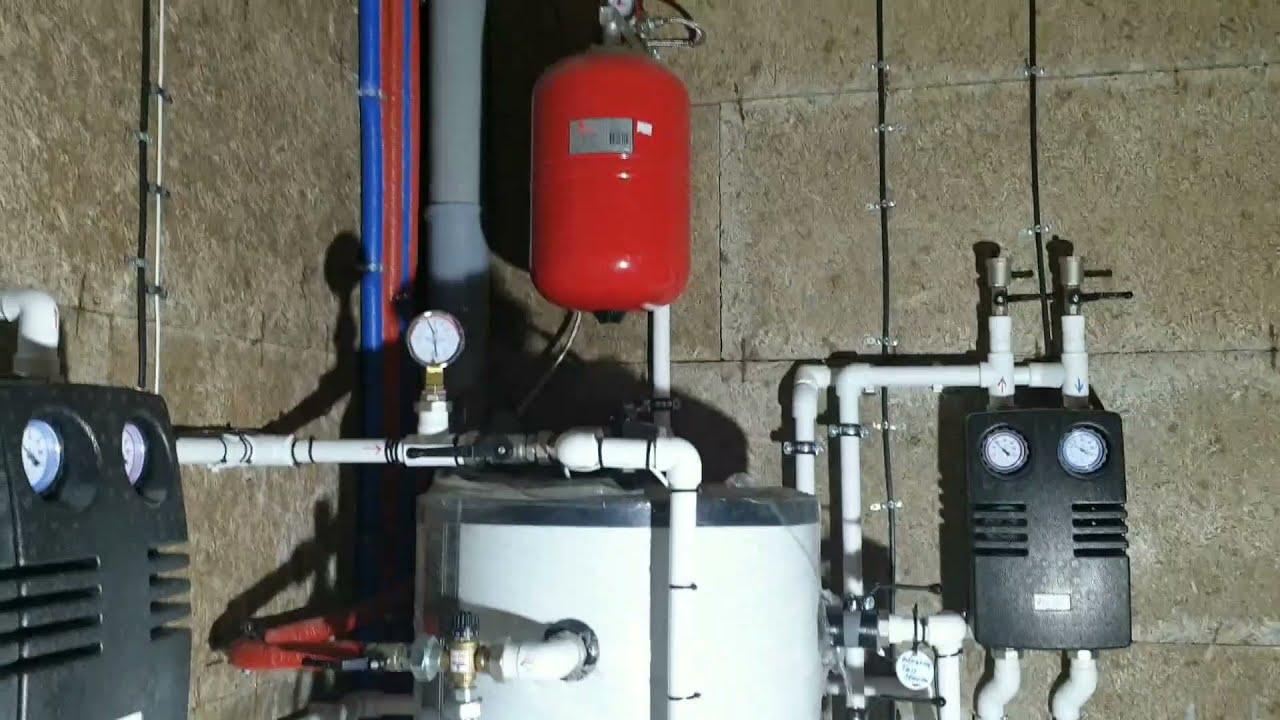 Тепловой насос и инженерные системы в доме