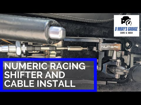 Numeric Racing Short Shifter and Cables Install/DIY – Porsche 987