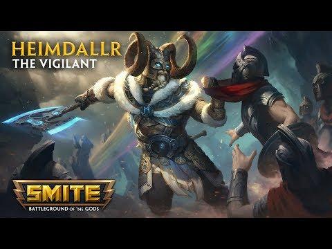 SMITE - God Reveal - Heimdallr, the Vigilant