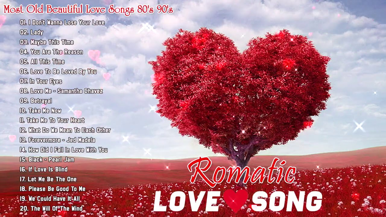 Best Love Songs Ever 🌷 Romantic Love Songs 80's 90's 🌷Greatest Love Songs Collection