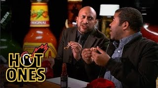 Download Key & Peele Lose Their Minds Eating Spicy Wings | Hot Ones Mp3 and Videos