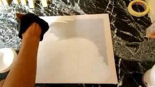 اسهل و اسرع طريقة لصنع وعمل اطار خشبي للوحة فنية في اقل من 10 دقائق للمبتدئين screenshot 5