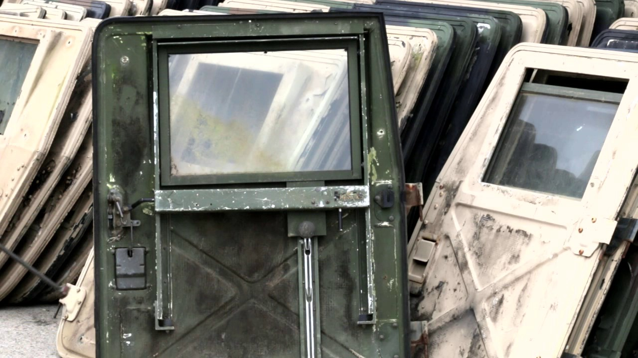Federal Military Parts - HUMVEE X-doors & Federal Military Parts - HUMVEE X-doors - YouTube